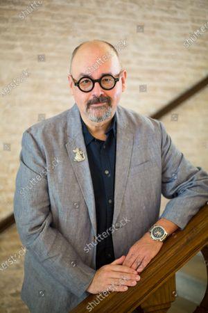 Editorial image of Literature Festival Pordenonelegge, Carlos Ruiz Zafon, Pordenone, Italy - 13 Sep 2017