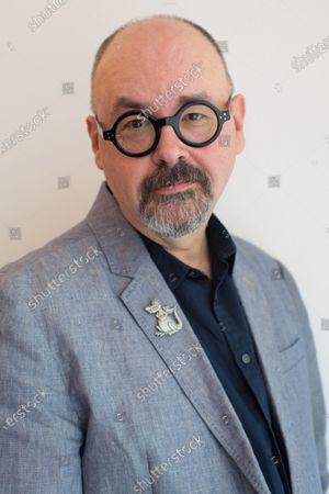 Stock Image of Writer Carlos Ruiz Zafon