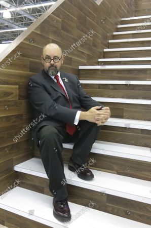 """In this, Spanish author Carlos Ruiz Zafon poses for a portrait during the Guadalajara International Book Fair in Guadalajara, Mexico. Spanish writer Carlos Ruiz Zafon, author of the acclaimed """"The Shadow of the Wind"""", died at the age of 55 in Los Angeles, United States, it was announced Friday June 19, 2020"""