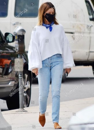 Editorial photo of Ashley Tisdale out and about, Los Angeles, California, USA - 17 Jun 2020