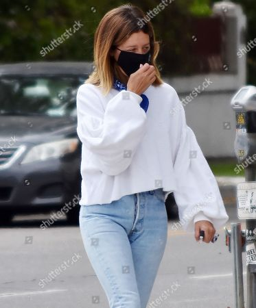 Editorial picture of Ashley Tisdale out and about, Los Angeles, California, USA - 17 Jun 2020