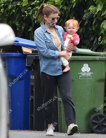 Kate Mara and daughter