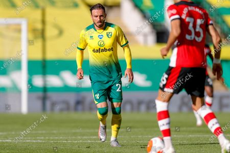 Norwich City forward Josip Drmic (20)   during the Premier League match between Norwich City and Southampton at Carrow Road, Norwich
