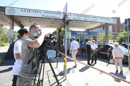 The exterior of the Siena hospital where the Italian driver Alex Zanardi is hospitalized after the road accident near Siena, Italy, 20 June 2020. According to reports, four-time paralympic champion and former Formula One driver Alex Zanardi was involved in a serious road accident on 19 June in the province of Siena while taking part in a race on his handbike during one of the stages of the relay of Obiettivo tricolore. Zinardi underwent a brain surgery after suffering a severe cranial trauma and is in serious condition, according to reports.