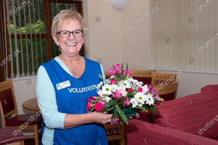 Volunteer Myra Finch. The Sue Ryder Duchess of Kent Hospice in Reading, Berkshire has been rated Outstanding by the Care Quality Commission. They have 15 in patient beds and are based near to the Royal Berkshire Hopsital in Reading