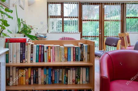The family room at The Sue Ryder Duchess of Kent Hospice in Reading, Berkshire. The Hospice has been rated Outstanding by the Care Quality Commission. They have 15 in patient beds and are based near to the Royal Berkshire Hopsital in Reading