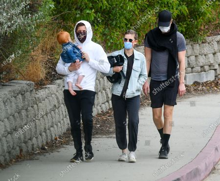 Editorial picture of Jamie Bell and Kate Mara out and about, Los Angeles, USA - 20 Jun 2020
