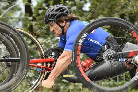 Stock Image of Italy's Alessandro Zanardi. FILE PICTURE Alex Zinardi who has been seriously injured in a training accident