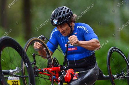 Stock Picture of Italy's Alessandro Zanardi. FILE PICTURE Alex Zinardi who has been seriously injured in a training accident
