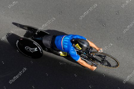Editorial picture of UCI Para Cycling Road World Championships 2019 Alex Zinardi. Emmen, Netherlands - 13 Sep 2019