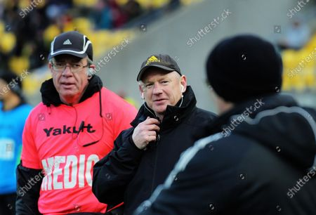 Editorial picture of Hurricanes v Crusaders, Super Rugby Aotearoa match, Sky Stadium, Wellington, New Zealand - 21 Jun 2020
