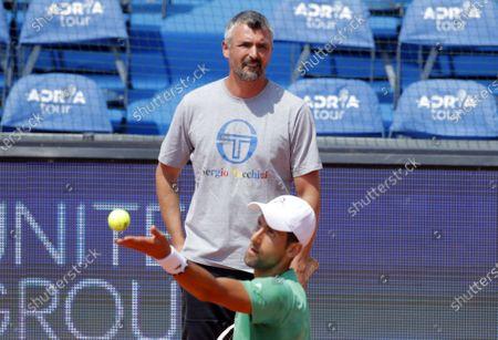 Novak Djokovic Goran Ivanisevic