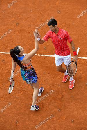 Novak Djokovic, Jelena Jankovic