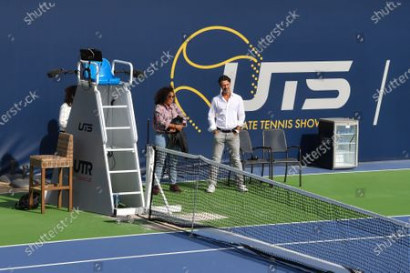 Editorial picture of Ultimate tennis showdown, Mouratoglou Academy, Biot, France - 12 Jun 2020
