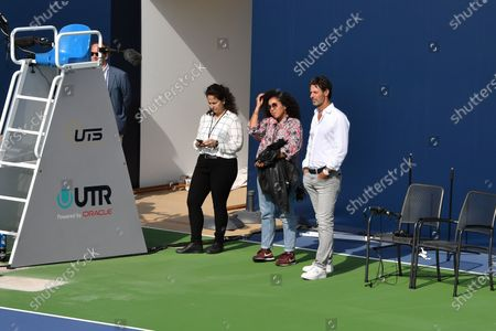 Editorial image of Ultimate tennis showdown, Mouratoglou Academy, Biot, France - 12 Jun 2020