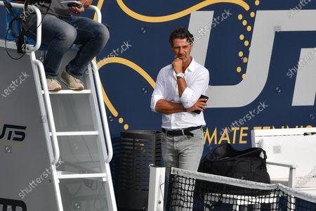 Editorial photo of Ultimate tennis showdown, Mouratoglou Academy, Biot, France - 12 Jun 2020