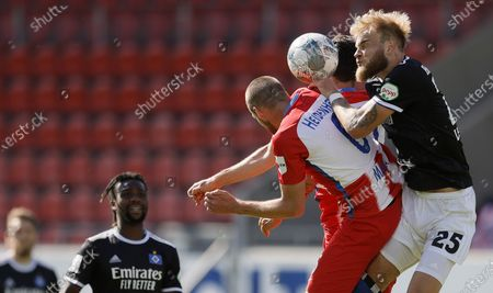 Editorial photo of FC Heidenheim vs Hamburger SV, Germany - 21 Jun 2020