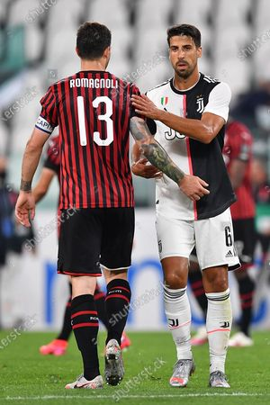 Editorial picture of Juventus - Milan Semifinal, Turin, Italy - 12 Jun 2020