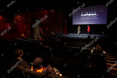 Editorial photo of Australian filmmaker Kitty Green's film shown during reopeing of Cinema Nova in Melbourne, Australia - 22 Jun 2020
