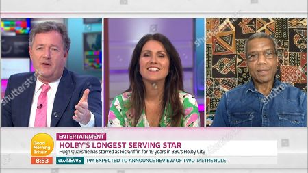 Editorial image of 'Good Morning Britain' TV Show, London, UK - 22 Jun 2020