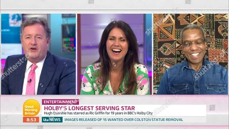 Editorial photo of 'Good Morning Britain' TV Show, London, UK - 22 Jun 2020