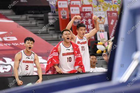 Editorial photo of China Dongguan Basketball Cba League Shenzhen vs Guangdong - 22 Jun 2020