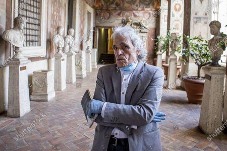 Editorial photo of Abel Ferrara, Rome, Italy - 22 Jun 2020