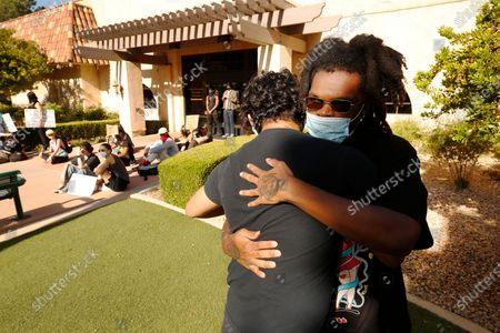 Editorial picture of Black Lives Matter protests, Palmdale, California, USA - 15 Jun 2020