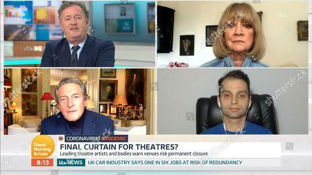 Editorial picture of 'Good Morning Britain' TV Show, London, UK - 23 Jun 2020