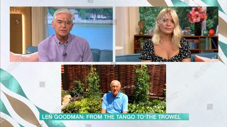 Phillip Schofield, Holly Willoughby, Len Goodman