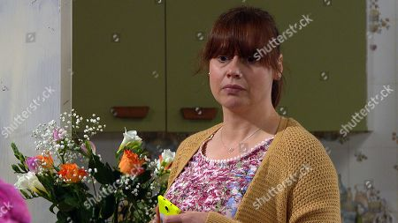 Emmerdale - Ep 8801 Monday 29th June 2020 Lydia Dingle, as played by Karen Blick suggests organising a fundraising event and Paul offers his help. Lydia wonders if Mandy Dingle is secretly concealing feelings for Paul.
