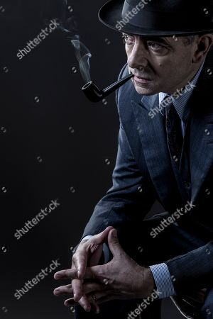 Stock Picture of Rowan Atkinson as Maigret.