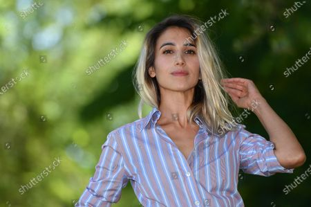 Silvia D'Amico poses during a photocall for 'Il Regno' (The Kingdom) in Rome, Italy, 23 June 2020. The movie will start streaming on 26 June.