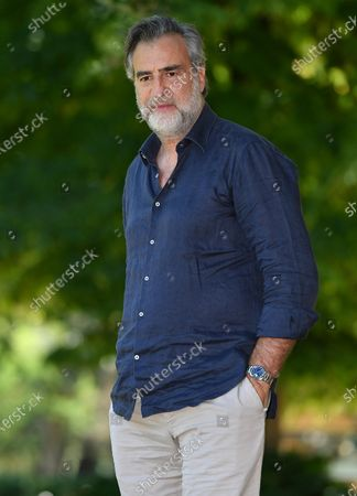 Max Tortora poses during a photocall for 'Il Regno' (The Kingdom) in Rome, Italy, 23 June 2020. The movie will start streaming on 26 June.