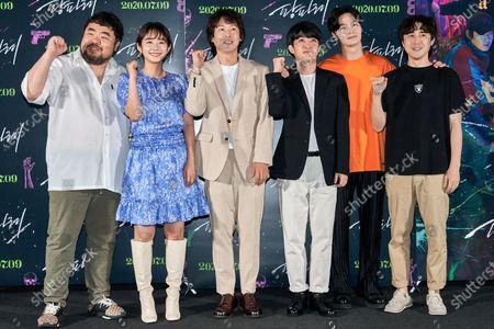 Stock Picture of Lee Seung-won, Lim Hwa-young, Park Jong-hwan, Park Se-jun, Nam Yeon-woo, Lee Don-ku