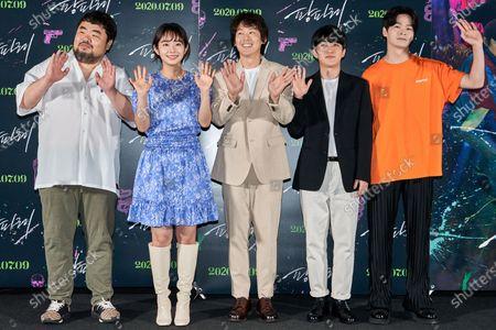 Stock Photo of Lee Seung-won, Lim Hwa-young, Park Jong-hwan, Park Se-jun, Nam Yeon-woo, Lee Don-ku
