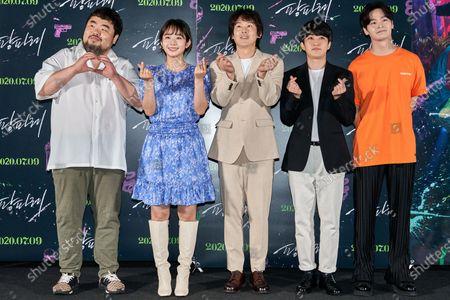 Editorial photo of 'Fanfare' film premiere, Seoul, South Korea - 23 Jun 2020