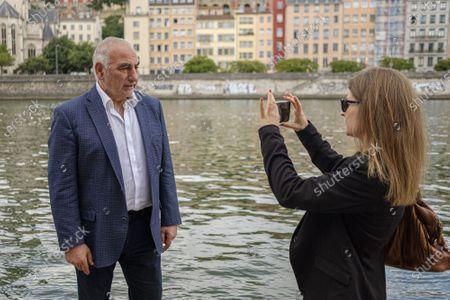 Editorial image of Candidate Georges Kepenekian, Marie de Lyon, France - 18 Jun 2020