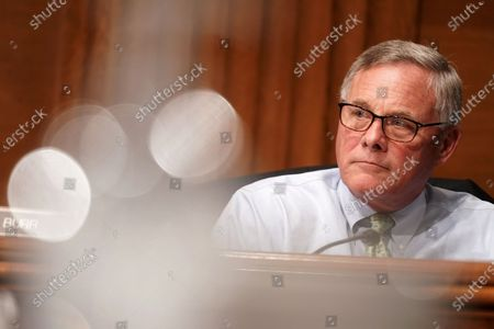 Sen. Richard Burr (R-N.C.) is seen during a Senate Health, Education, Labor and Pensions Committee hearing to discuss the lessons learned during the coronavirus to prepare for the next pandemic, in Washington, DC, USA, 23 June 2020.