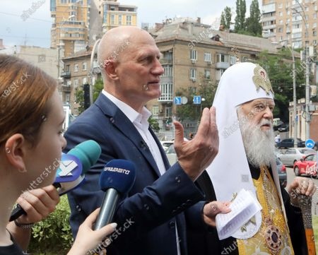 Editorial photo of Monument to doctors to appear in Kyiv, Ukraine - 23 Jun 2020