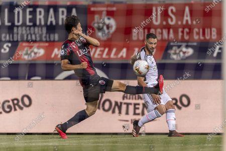 Mattia De Sciglio (Juventus) Takehiro Tomiyasu (Bologna)