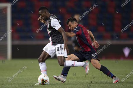 Blaise Matuidi (Juventus) Gary Medel (Bologna)