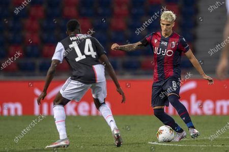 Nicolas Dominguez (Bologna) Blaise Matuidi (Juventus)