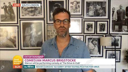 Stock Image of Marcus Brigstocke