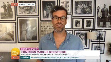 Editorial image of 'Good Morning Britain' TV Show, London, UK - 24 Jun 2020