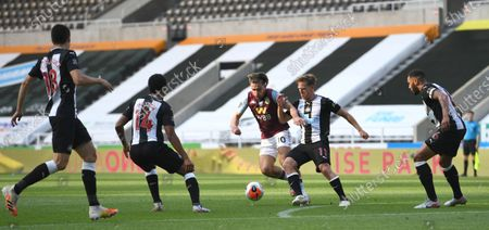 Editorial image of Newcastle United v Aston Villa, Premier League, Football, St James' Park, Newcastle Upon Tyne, UK - 24 Jun 2020