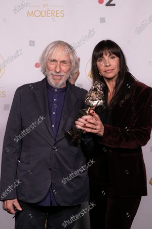 Pierre Richard and Mathilda May