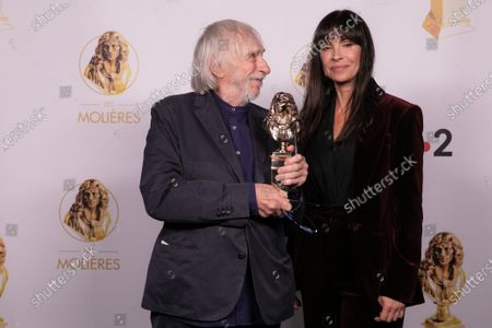 Editorial photo of 32nd night of Molieres ceremony, Paris, France - 22 Jun 2020