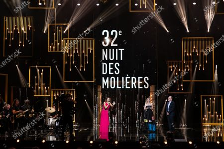 Editorial picture of 32nd night of Molieres ceremony, Paris, France - 22 Jun 2020