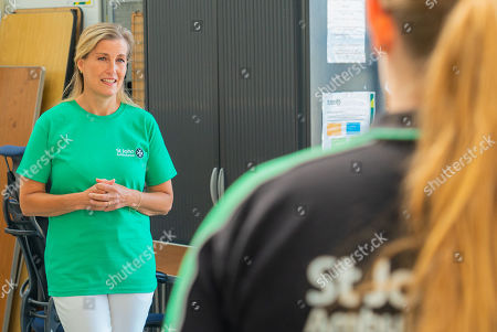 Sophie Countess of Wessex visit to Gosport